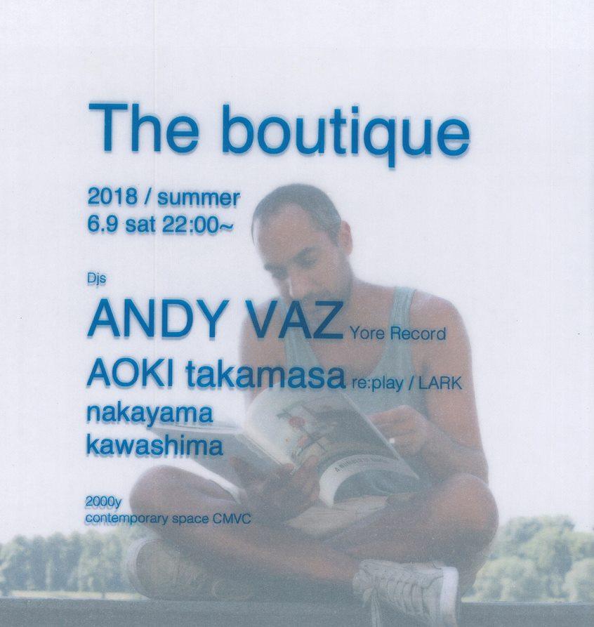 大分県日田市CMVC boutique andy vaz