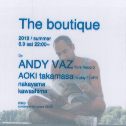 大分県日田市CMVC boutique andy vaz